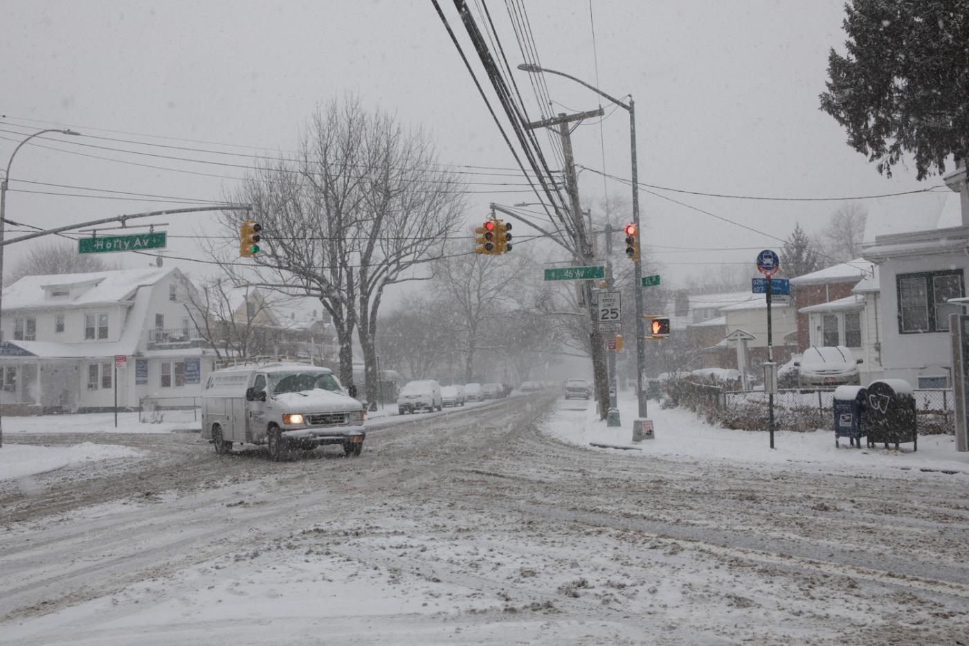 紐約: 風雪法拉盛 190107_图1-3