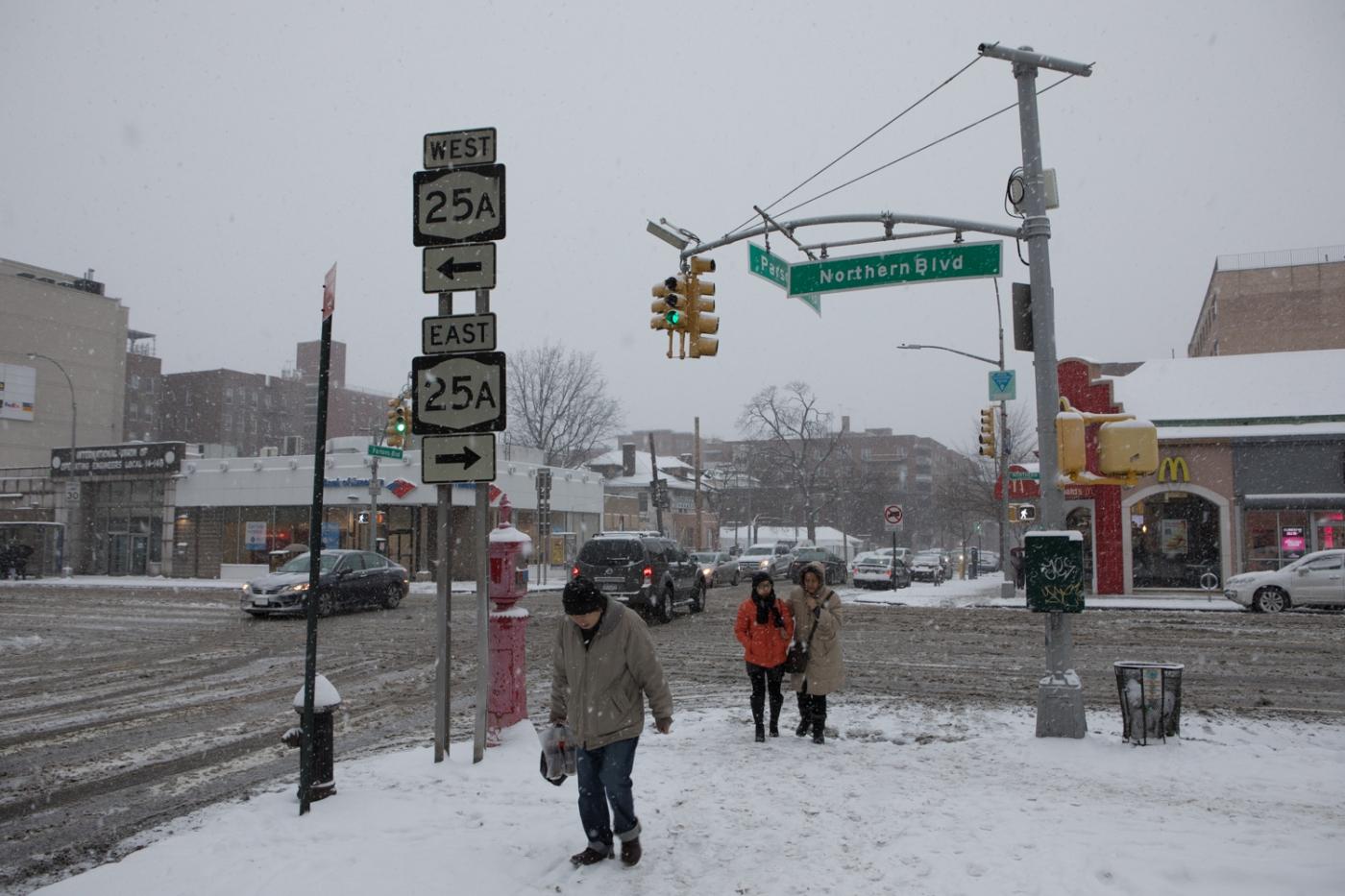 紐約: 風雪法拉盛 190107_图1-5