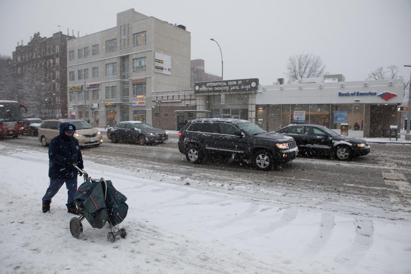 紐約: 風雪法拉盛 190107_图1-49