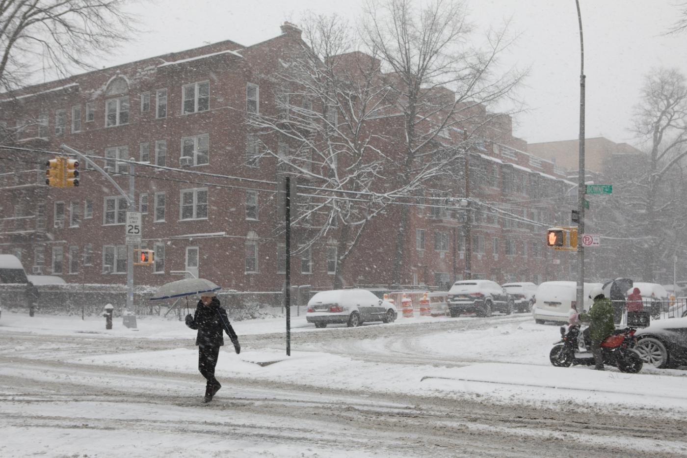 紐約: 風雪法拉盛 190107_图1-6