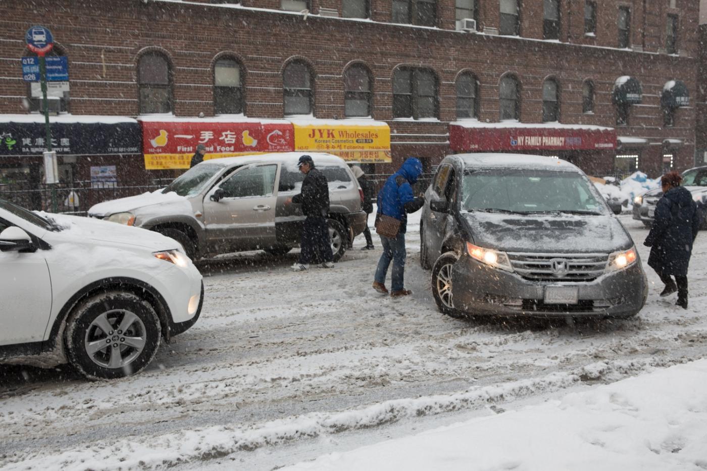 紐約: 風雪法拉盛 190107_图1-8