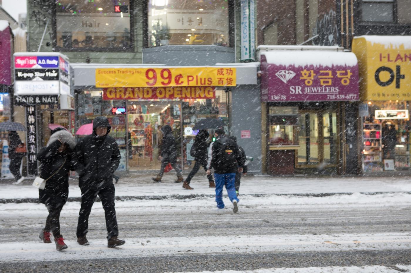 紐約: 風雪法拉盛 190107_图1-12