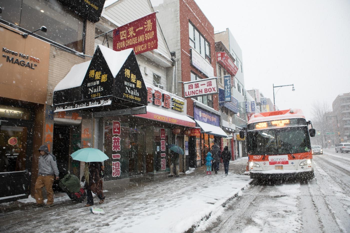 紐約: 風雪法拉盛 190107_图1-50