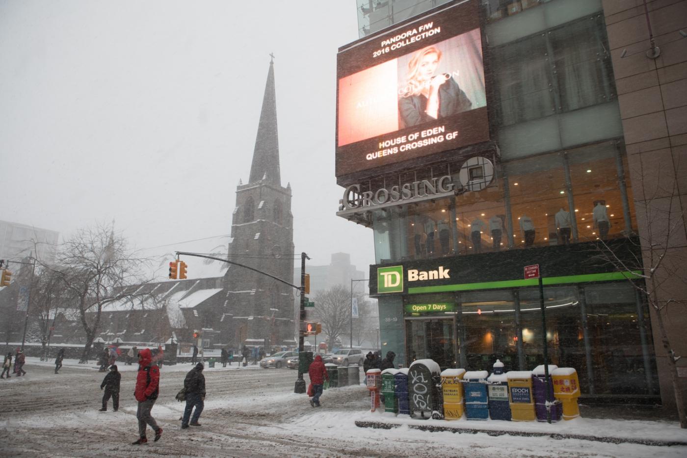 紐約: 風雪法拉盛 190107_图1-16