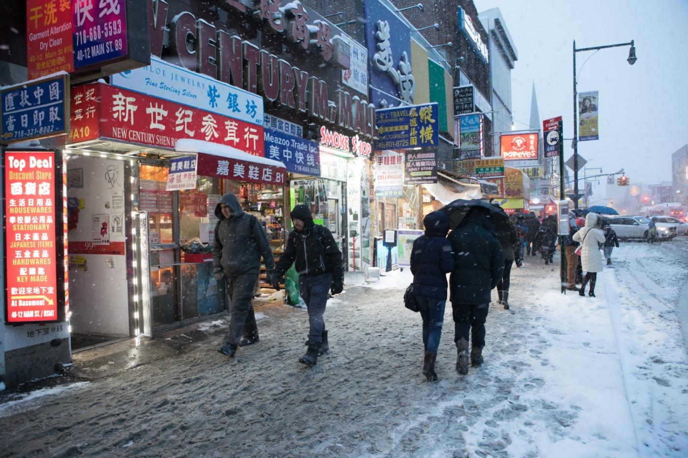 紐約: 風雪法拉盛 190107_图1-30