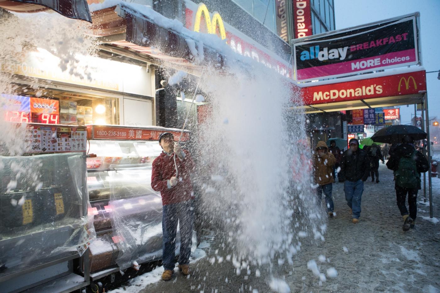 紐約: 風雪法拉盛 190107_图1-31