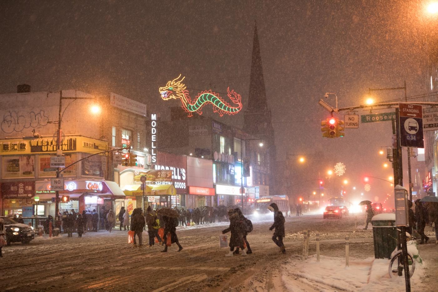 紐約: 風雪法拉盛 190107_图1-44