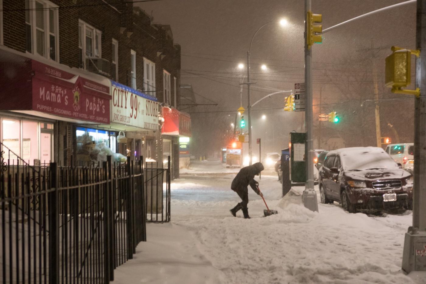 紐約: 風雪法拉盛 190107_图1-48
