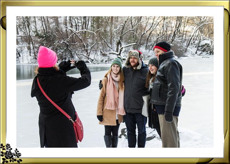 2017年第一次大雪——中央公园雪景_图1-3