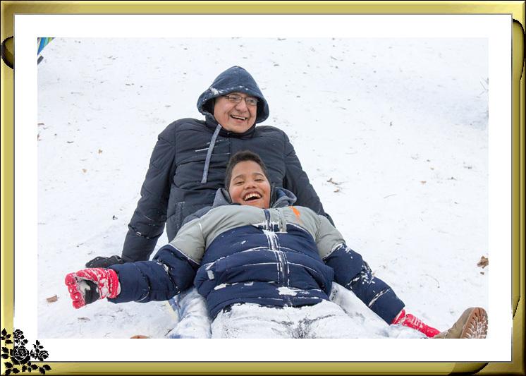 2017年第一次大雪——中央公园雪景_图1-5