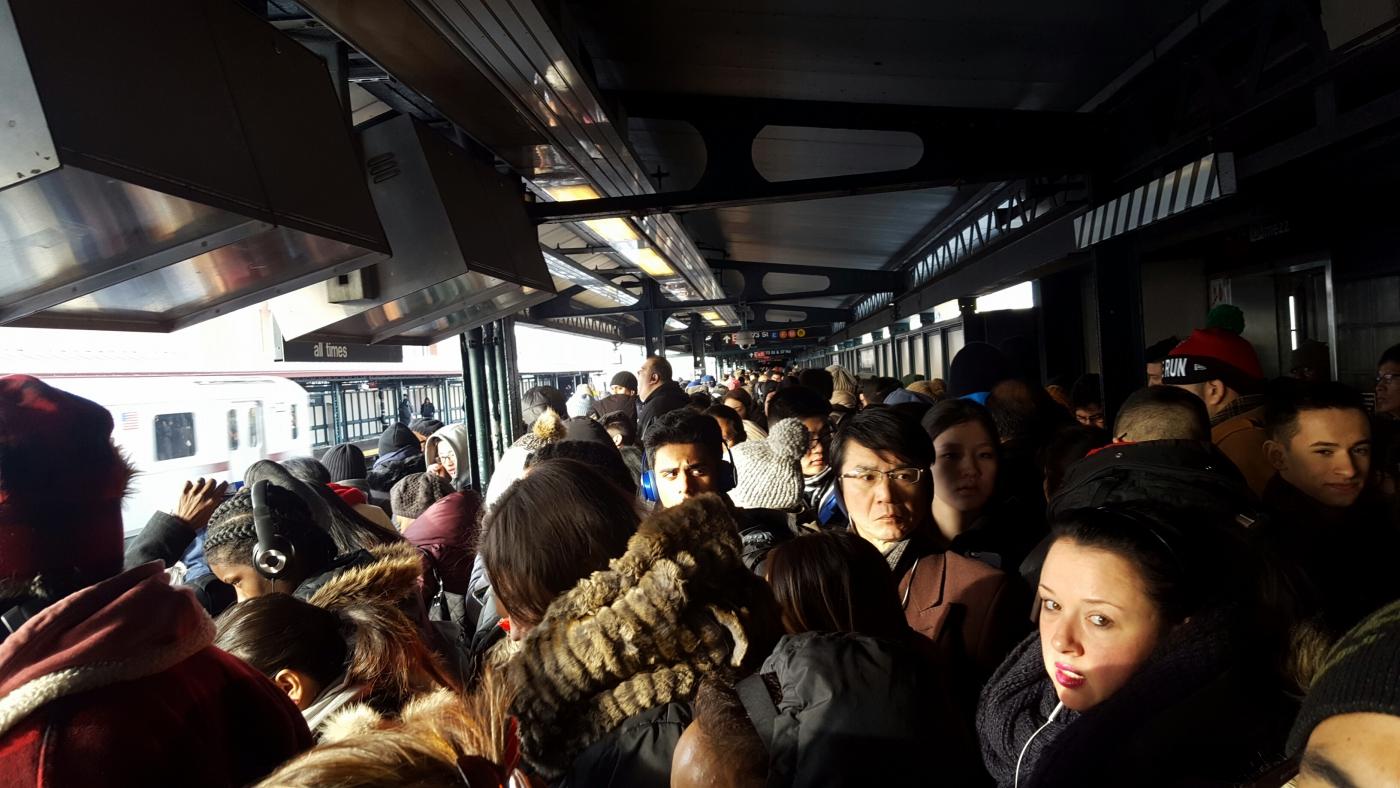 【田螺手机随拍】今天的地铁站、人也是―道景_图1-9