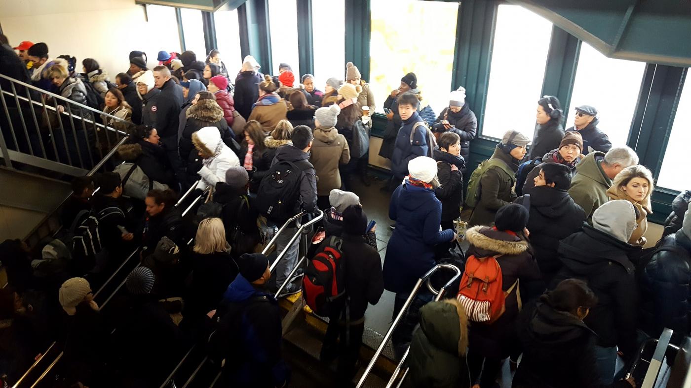 【田螺手机随拍】今天的地铁站、人也是―道景_图1-10