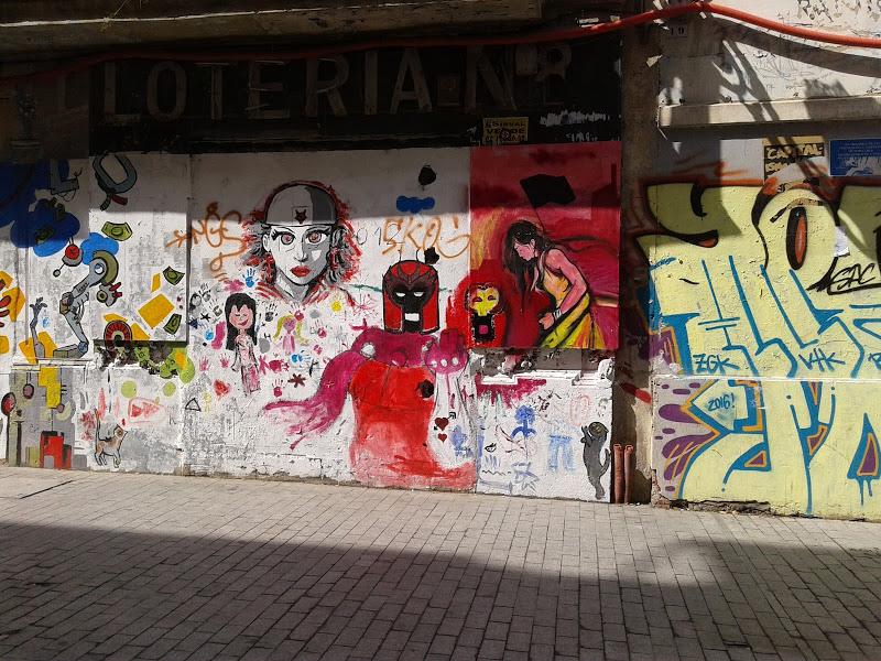 西班牙街頭隨影