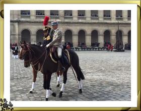 凭吊巴黎荣军院(拿破仑陵墓)