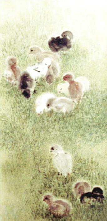 【晓鸣画作】小鸡趣_图1-1