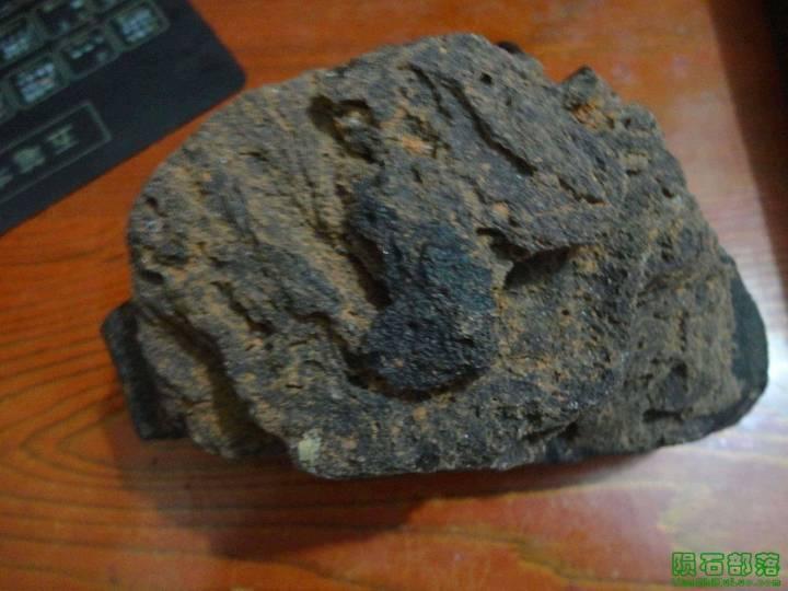 ★★我收藏的稀少的840克的雷公墨玻璃陨石★★_图1-3