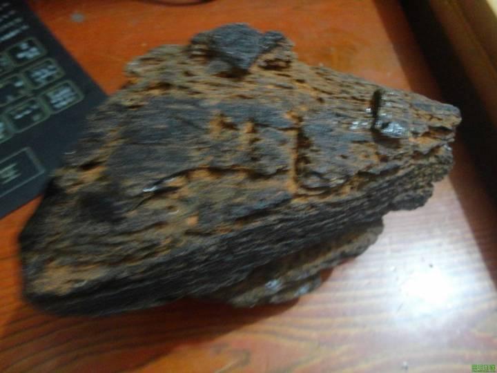 ★★我收藏的稀少的840克的雷公墨玻璃陨石★★_图1-5