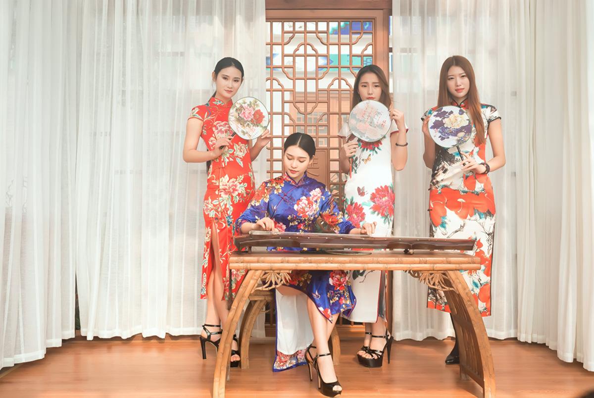 当沂蒙女孩遇到中国人自己的服饰 和摄影人的新年艳遇开始了 ..._图1-5