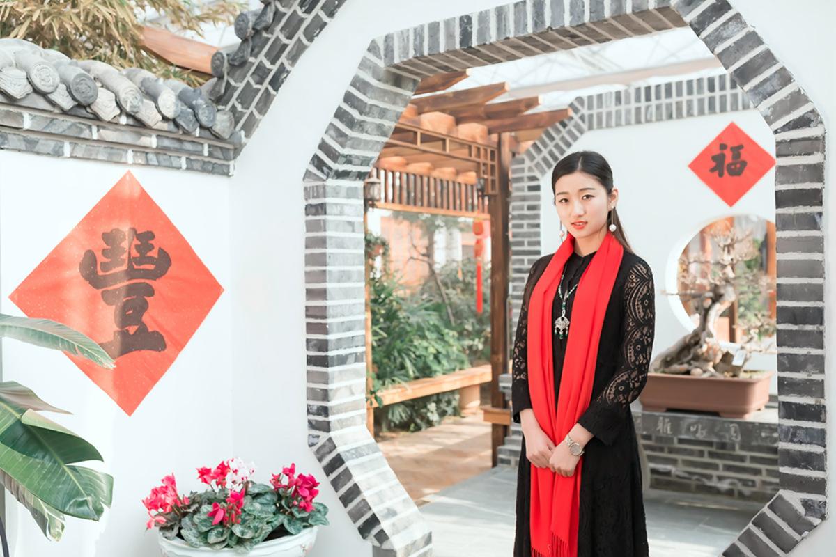 当沂蒙女孩遇到中国人自己的服饰 和摄影人的新年艳遇开始了 ..._图1-6