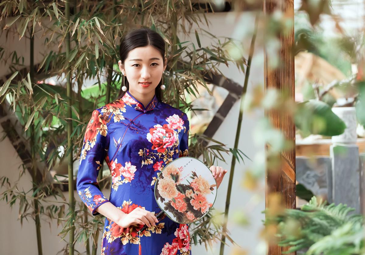 当沂蒙女孩遇到中国人自己的服饰 和摄影人的新年艳遇开始了 ..._图1-8
