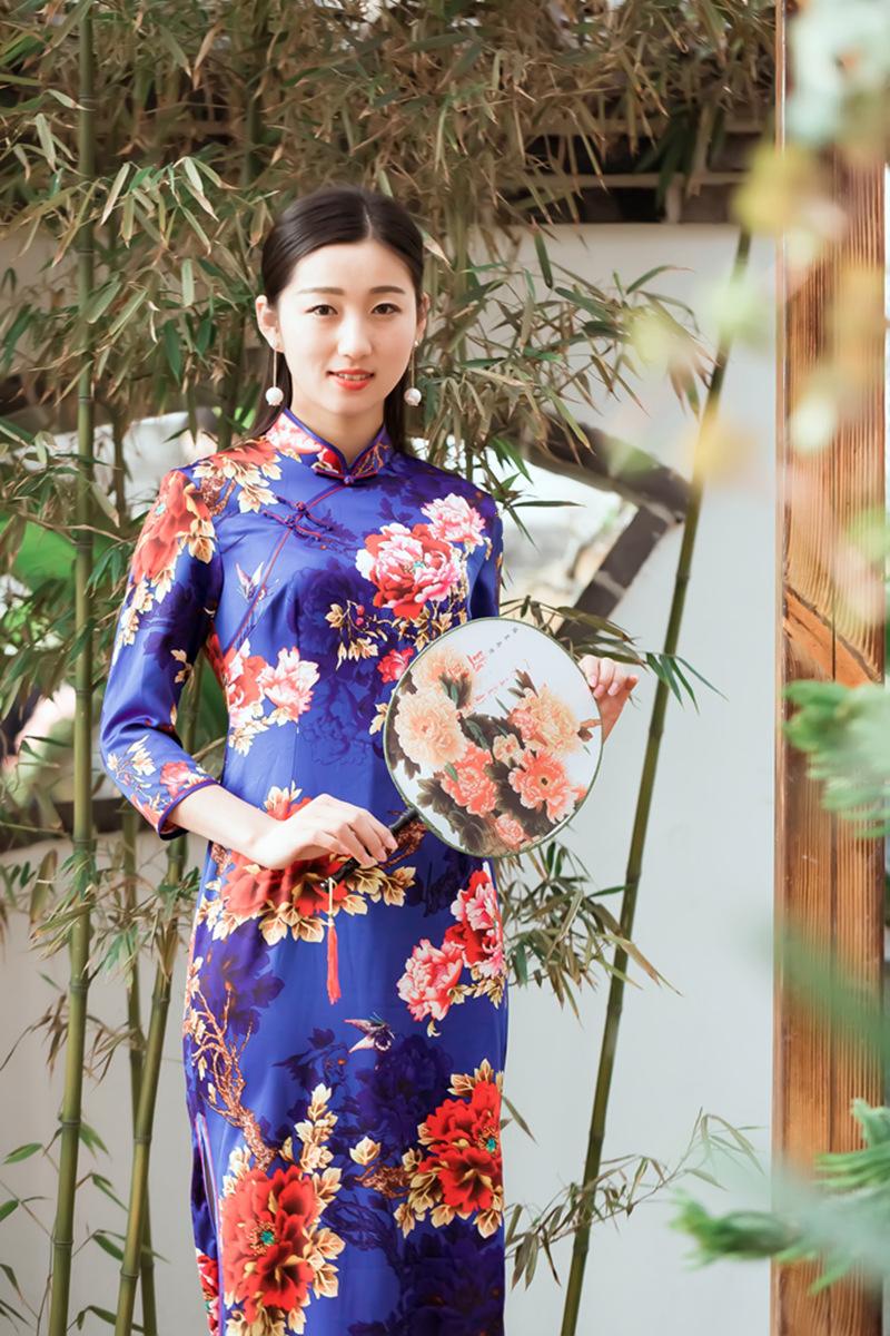 当沂蒙女孩遇到中国人自己的服饰 和摄影人的新年艳遇开始了 ..._图1-9