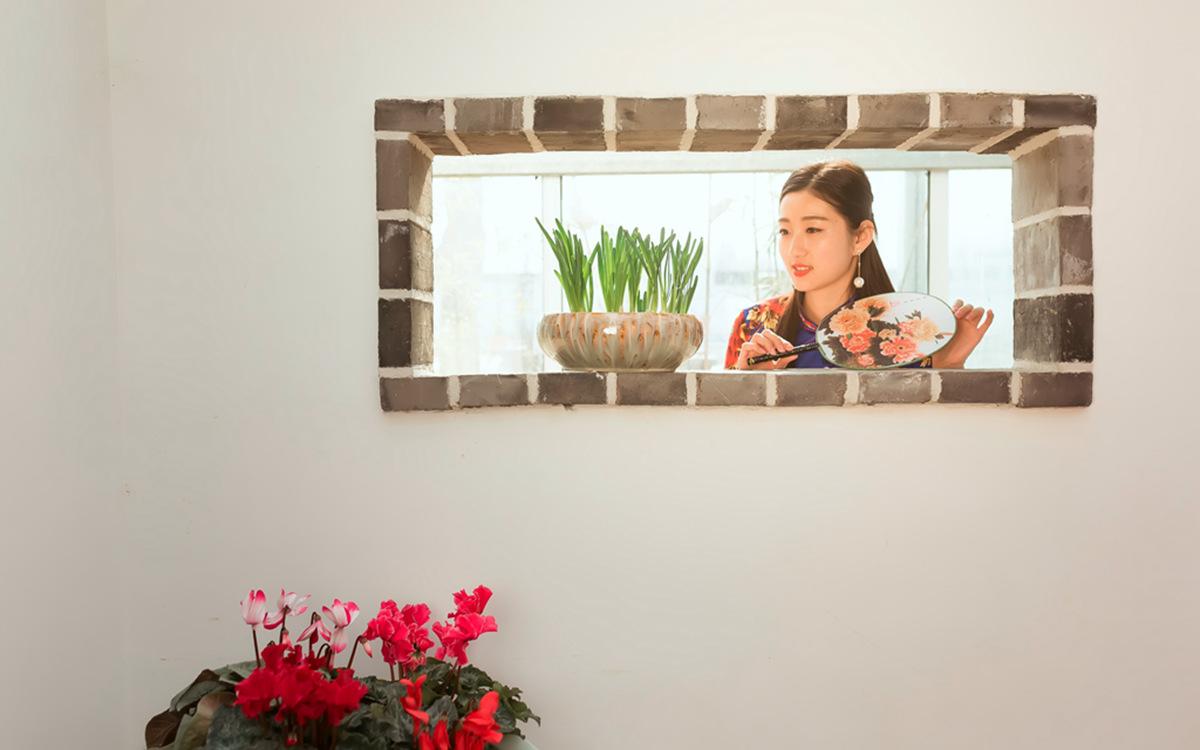 当沂蒙女孩遇到中国人自己的服饰 和摄影人的新年艳遇开始了 ..._图1-10