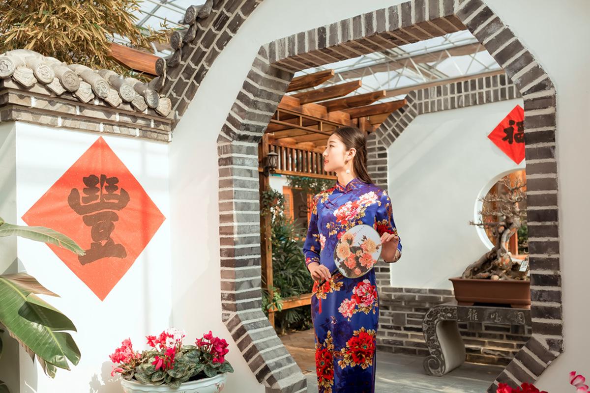 当沂蒙女孩遇到中国人自己的服饰 和摄影人的新年艳遇开始了 ..._图1-11