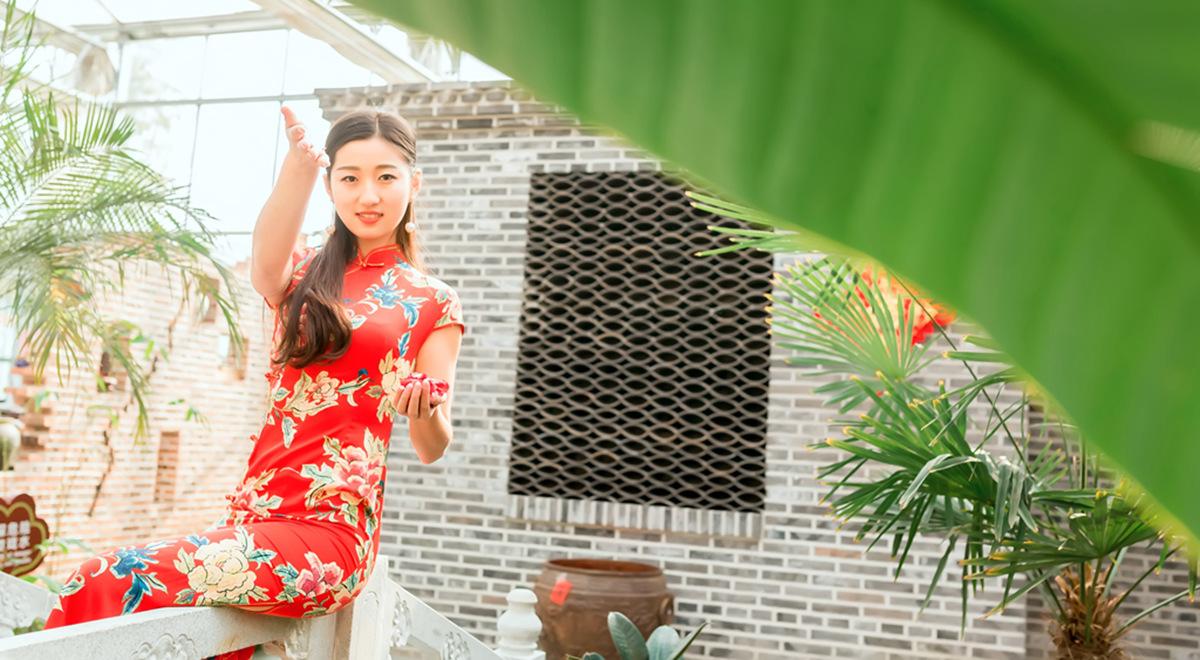当沂蒙女孩遇到中国人自己的服饰 和摄影人的新年艳遇开始了 ..._图1-13