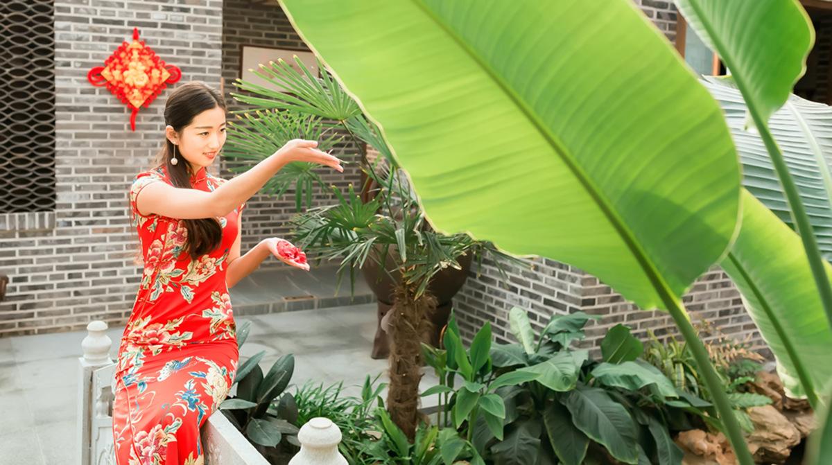 当沂蒙女孩遇到中国人自己的服饰 和摄影人的新年艳遇开始了 ..._图1-14