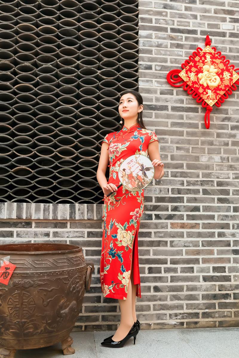 当沂蒙女孩遇到中国人自己的服饰 和摄影人的新年艳遇开始了 ..._图1-15