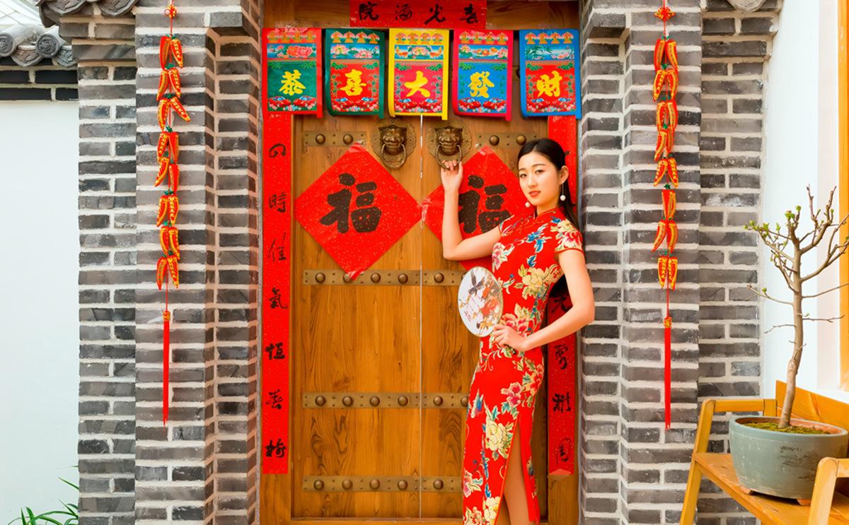 当沂蒙女孩遇到中国人自己的服饰 和摄影人的新年艳遇开始了 ..._图1-16