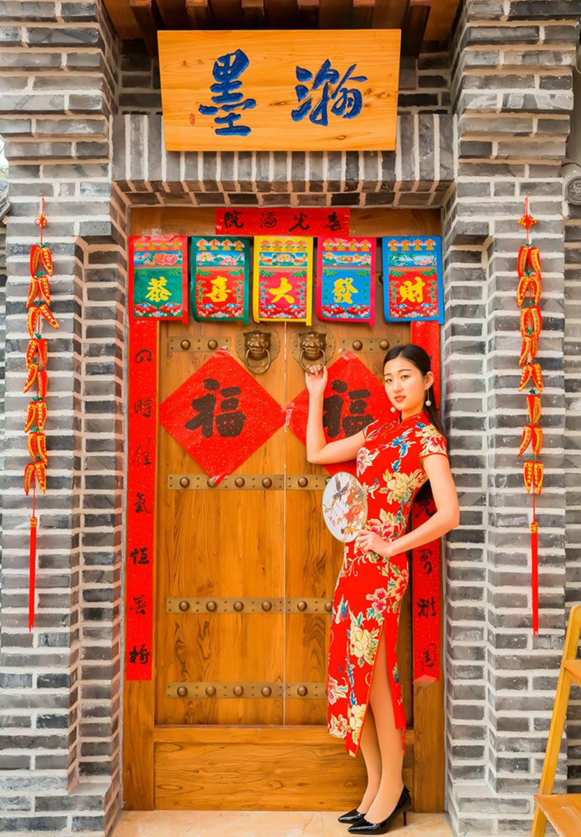 当沂蒙女孩遇到中国人自己的服饰 和摄影人的新年艳遇开始了 ..._图1-17