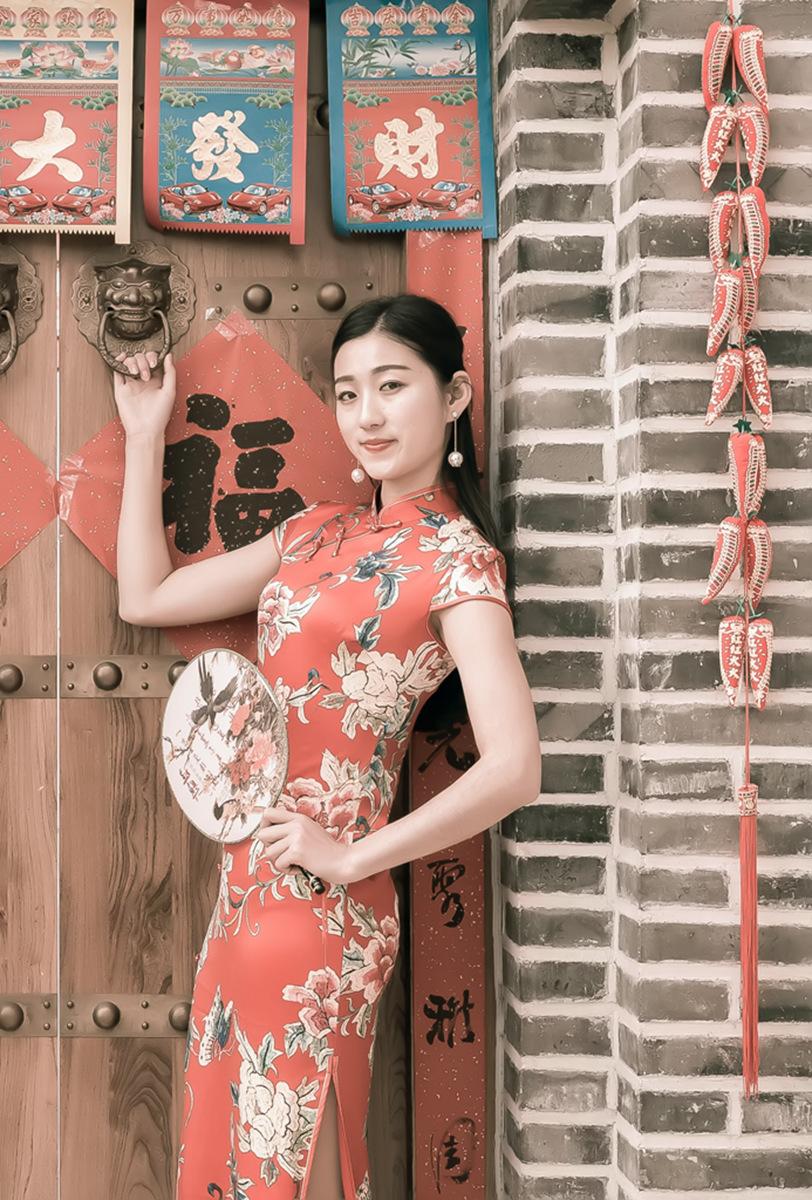 当沂蒙女孩遇到中国人自己的服饰 和摄影人的新年艳遇开始了 ..._图1-18