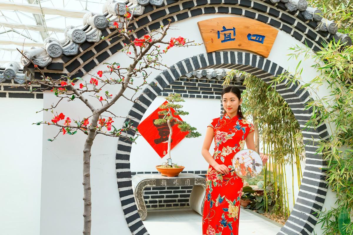 当沂蒙女孩遇到中国人自己的服饰 和摄影人的新年艳遇开始了 ..._图1-19