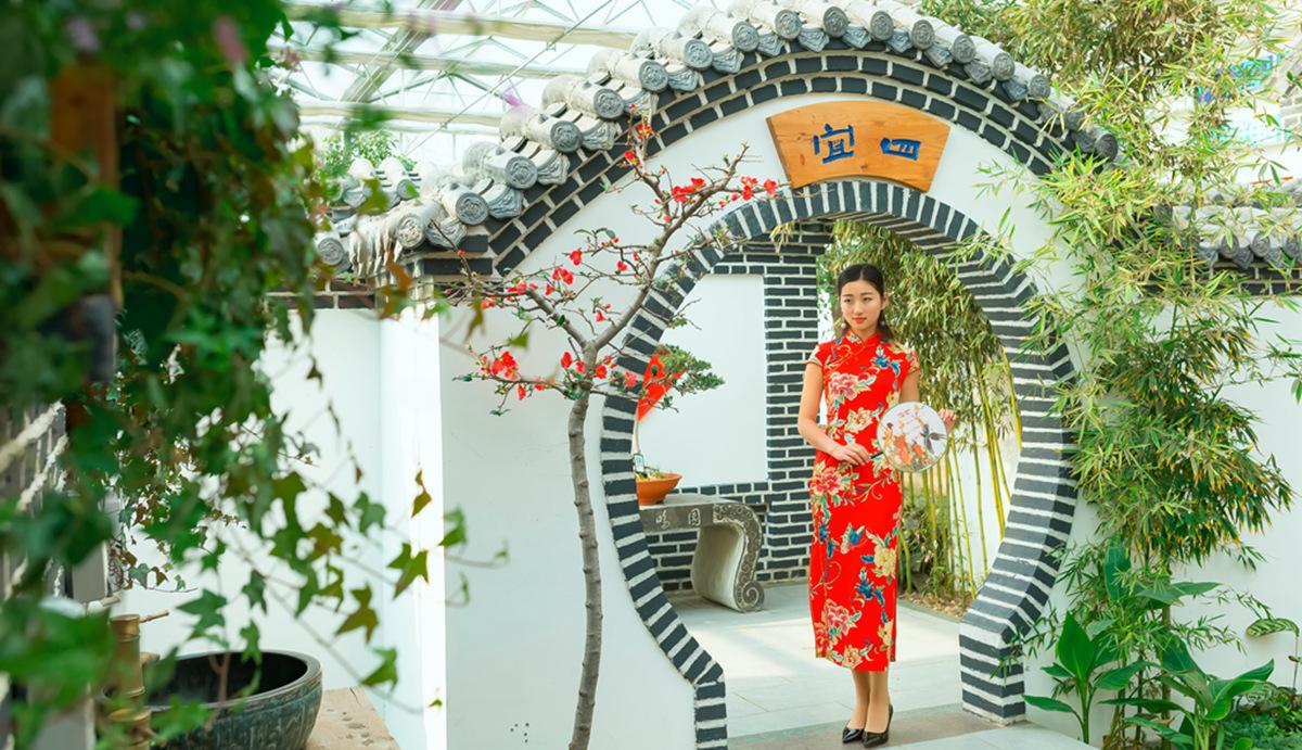 当沂蒙女孩遇到中国人自己的服饰 和摄影人的新年艳遇开始了 ..._图1-20
