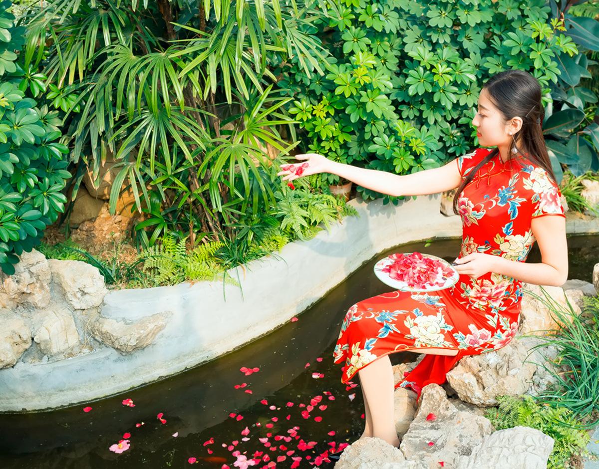 当沂蒙女孩遇到中国人自己的服饰 和摄影人的新年艳遇开始了 ..._图1-21