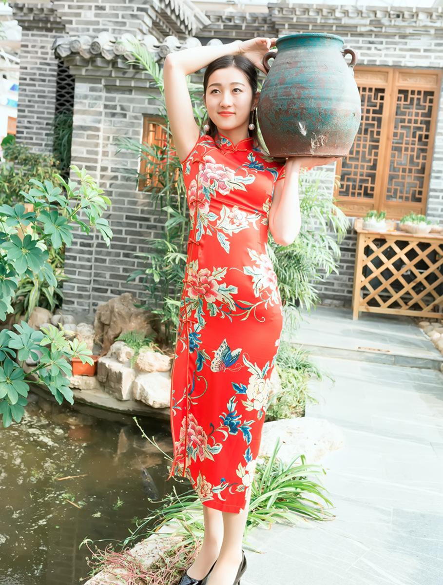 当沂蒙女孩遇到中国人自己的服饰 和摄影人的新年艳遇开始了 ..._图1-22