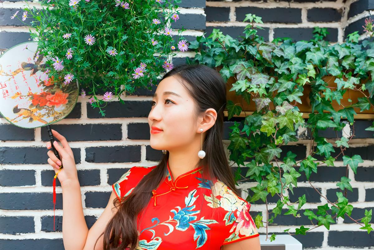 当沂蒙女孩遇到中国人自己的服饰 和摄影人的新年艳遇开始了 ..._图1-23