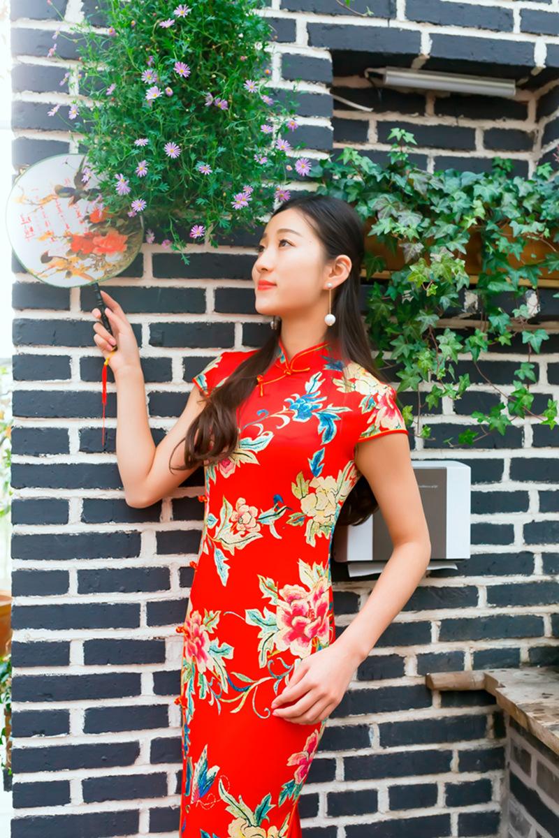 当沂蒙女孩遇到中国人自己的服饰 和摄影人的新年艳遇开始了 ..._图1-24