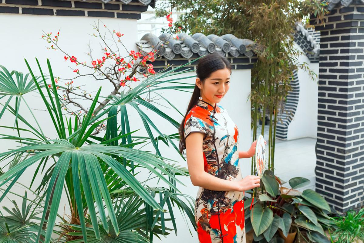 当沂蒙女孩遇到中国人自己的服饰 和摄影人的新年艳遇开始了 ..._图1-27
