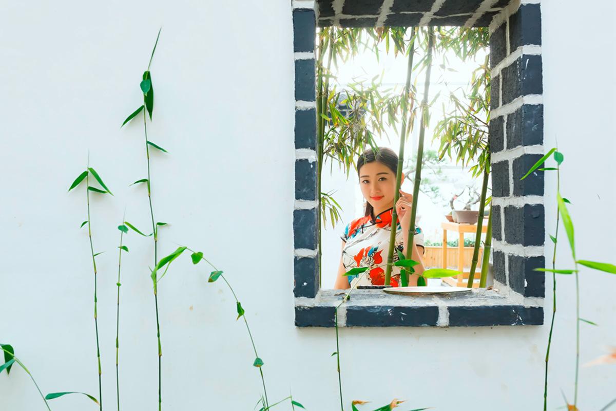 当沂蒙女孩遇到中国人自己的服饰 和摄影人的新年艳遇开始了 ..._图1-29
