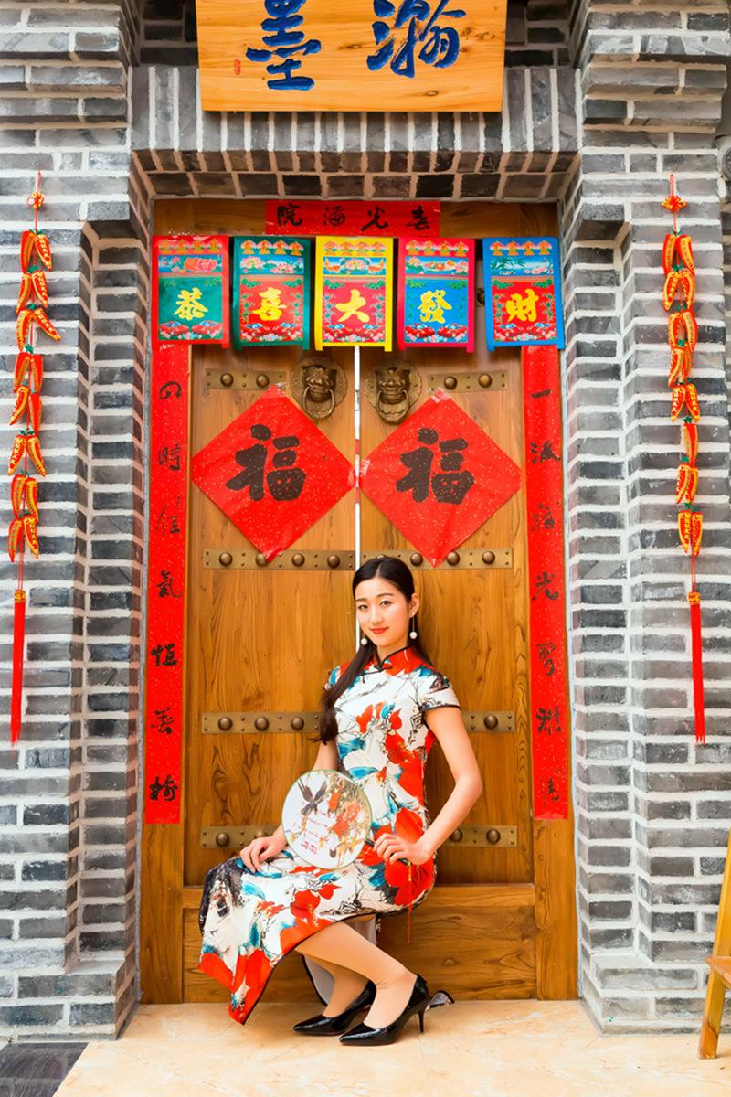当沂蒙女孩遇到中国人自己的服饰 和摄影人的新年艳遇开始了 ..._图1-33
