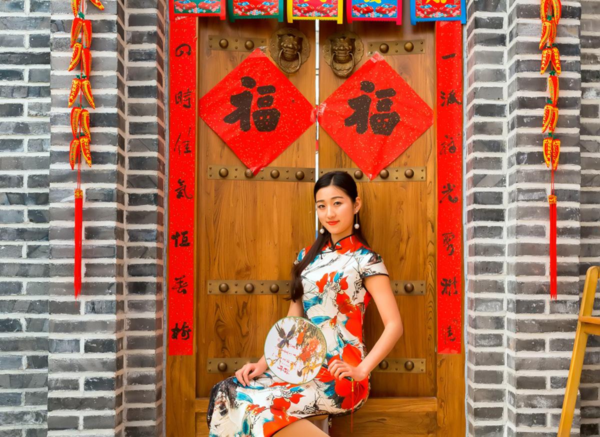 当沂蒙女孩遇到中国人自己的服饰 和摄影人的新年艳遇开始了 ..._图1-35
