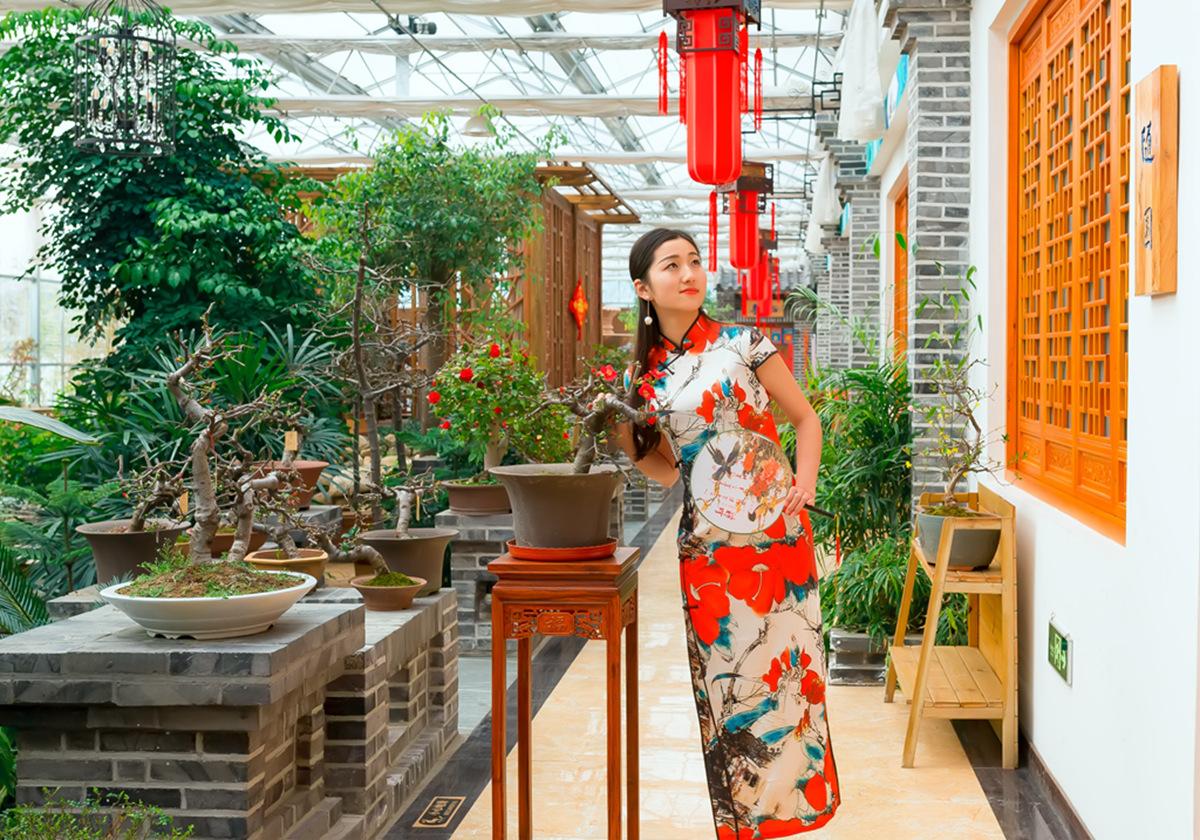 当沂蒙女孩遇到中国人自己的服饰 和摄影人的新年艳遇开始了 ..._图1-30