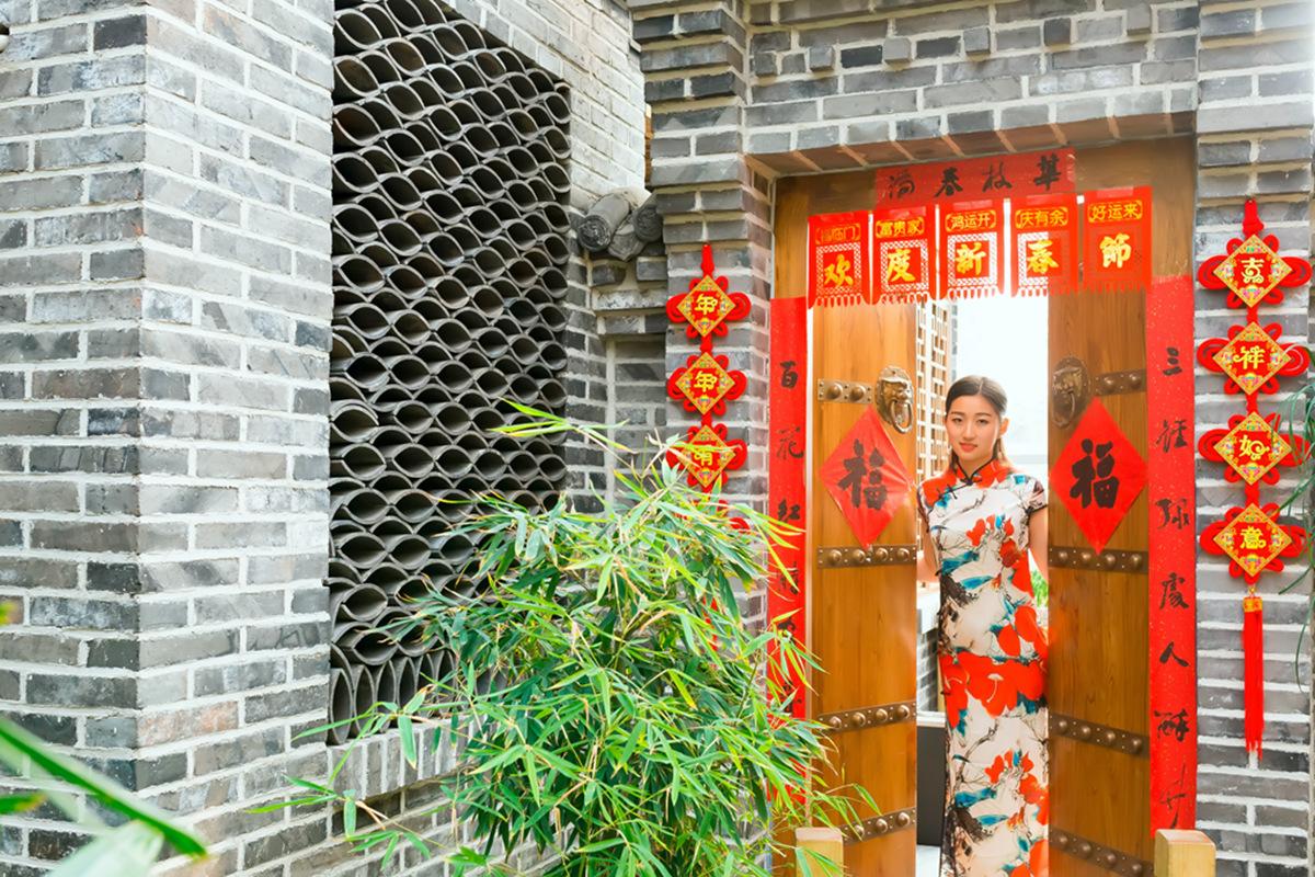 当沂蒙女孩遇到中国人自己的服饰 和摄影人的新年艳遇开始了 ..._图1-31