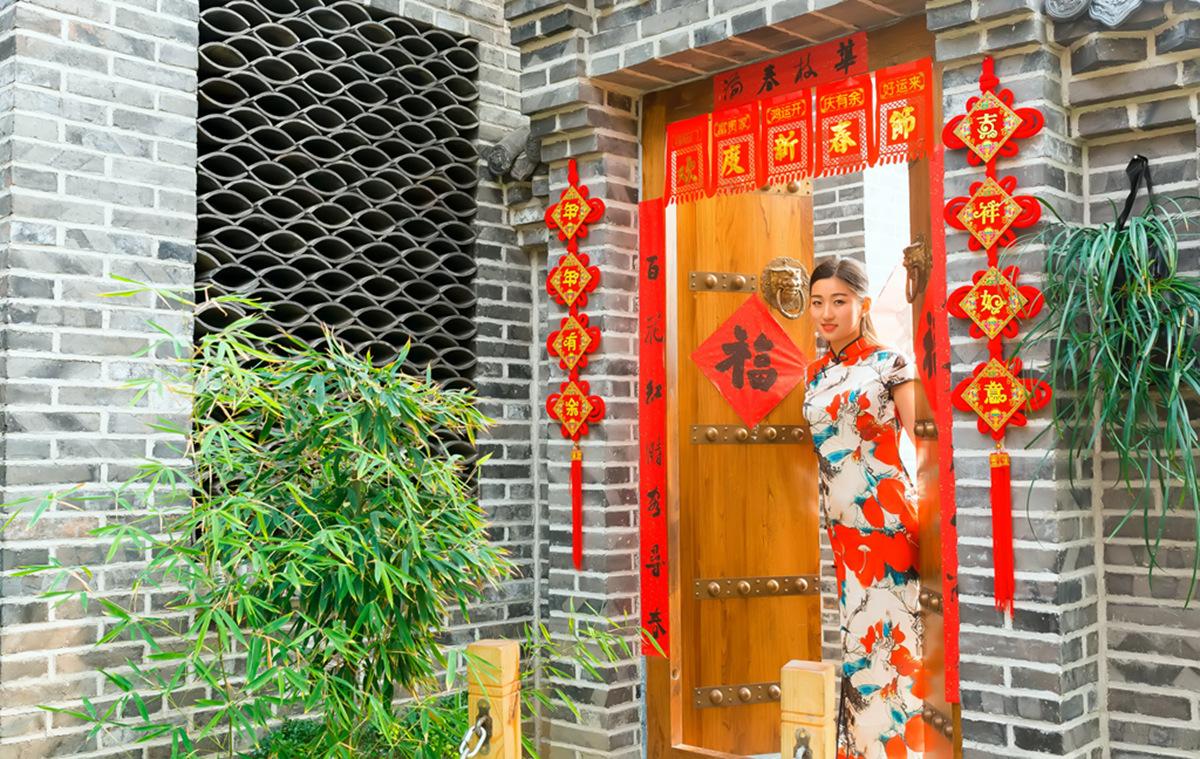 当沂蒙女孩遇到中国人自己的服饰 和摄影人的新年艳遇开始了 ..._图1-34