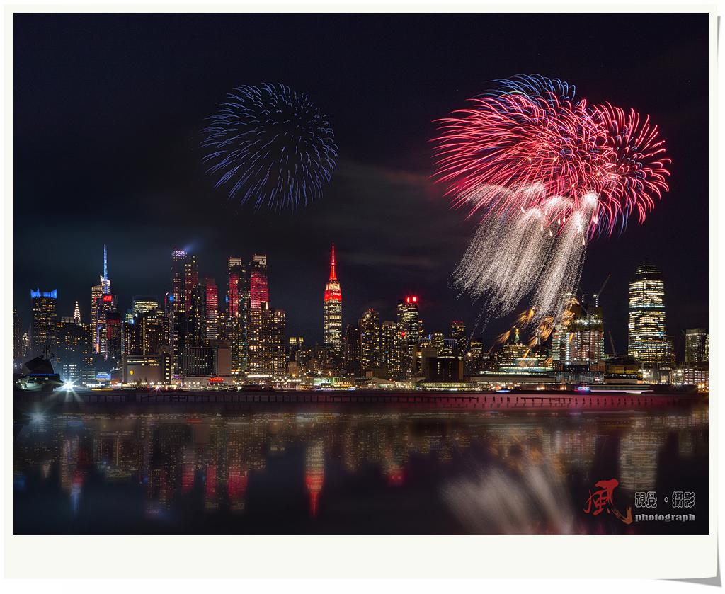 【风】春节焰火点亮纽约夜空_图1-6