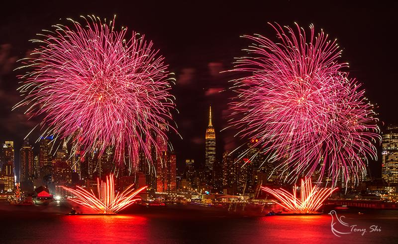 纽约庆祝中国新年烟花汇演_图1-1