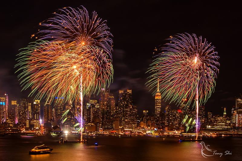 纽约庆祝中国新年烟花汇演_图2-5