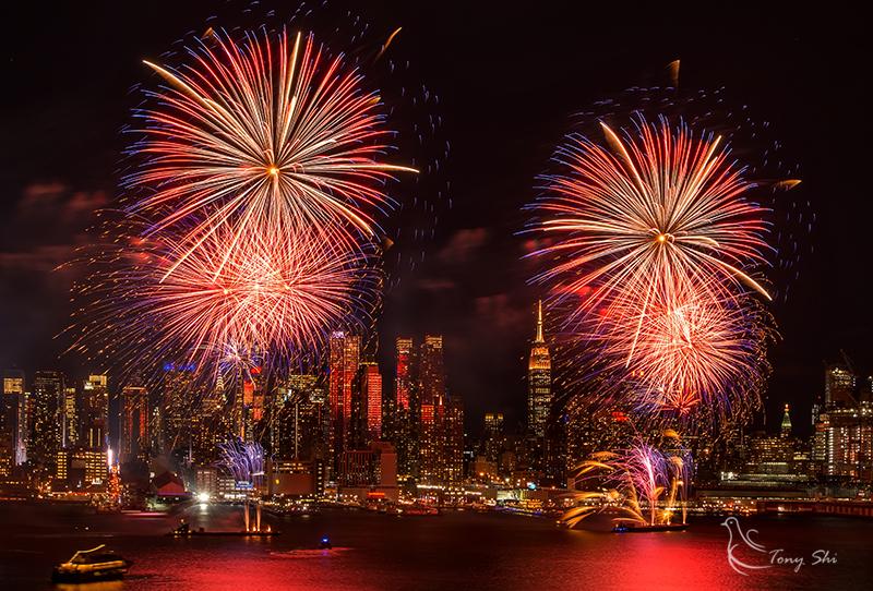 纽约庆祝中国新年烟花汇演_图2-6